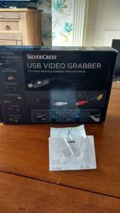 Silvercrest USB Video Grabber £6.99 instore @ Aldi