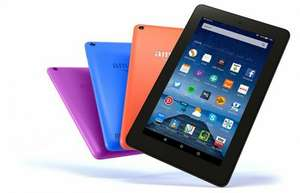 "Amazon Fire Tablet 7"" 8GB £34.99 & 16GB £44.99 Black/Blue/Magenta/Tangerine @ Argos (Free C&C)"