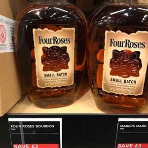 Four Roses small batch bourbon whisky £24 instore @ M&S food (Cheshire Oaks)
