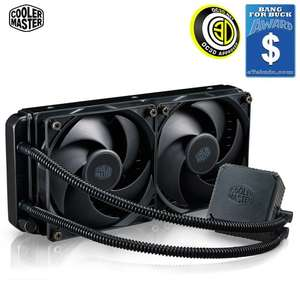 Cooler Master Seidon 240V All-in-one Blue LED CPU Liquid Cooling Kit £47.69 @ CCL online