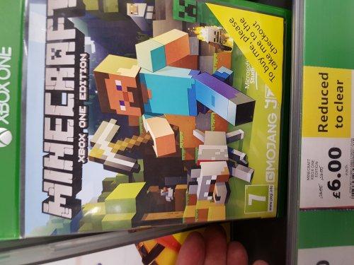 MINECRAFT XBOX One £6 @ Tesco - Wycombe loudwater
