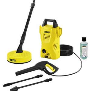 Karcher K2 Compact Pressure Washer and Patio Cleaner 240V 110 bar £74.97 @ Toolstation