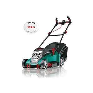 Bosch rotak 43 electric mower £117 @ B&Q