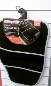 4 Piece Car mats - 2 front, 2 rear. £2.99 instore @ Poundstretcher