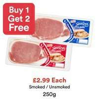750g of bacon £2.99 at Costcutter (24 rashers)