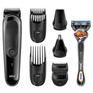 Braun MGK3060 Multi Grooming Kit 8 in 1 Cordless Grooming Kit @ Amazon £29.99 Delivered