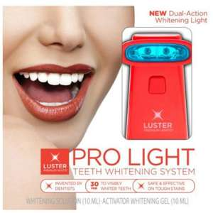 Teeth whitening system @ Lloyd's pharmacy was £49.99 now £10.00