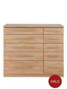 Large chest of drawers 5 + 5 £99.99 VERY
