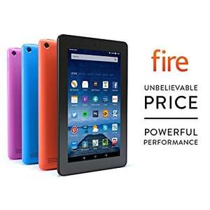 Amazon Fire 7 inch Tablet 8 GB now £34.99 Price matched against Argos deal - All colours, Black, Blue, Magenta and Tangerine this price @ Amazon