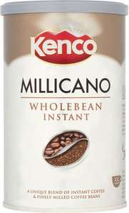 Kenco Millicano Wholebean Instant Coffee 100g £2.44 @ Londis was £4.89