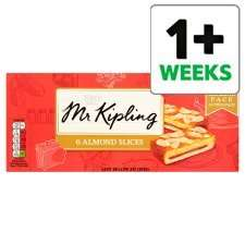 Mr Kipling Almond / Bakewell / Country Slices 6pk 74p @ Tesco from Tuesday