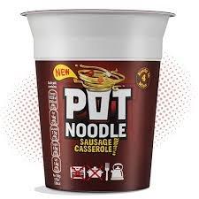 Sausage Casserole Pot Noodle - 15p Instore Colindale morrisons