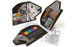 Crayola Millennium Falcon Art Kit £10.98 delivered @ Groupon