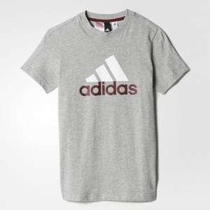 Children's addidas t-shirt now half price £7.47 @ adidas online free c&c or £3.95 delivery