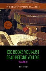[Kindle] 100 Books You Must Read Before You Die - volume 2 @ Amazon