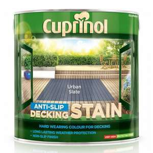 cuprinol anti slip decking paint £12 @ B&M