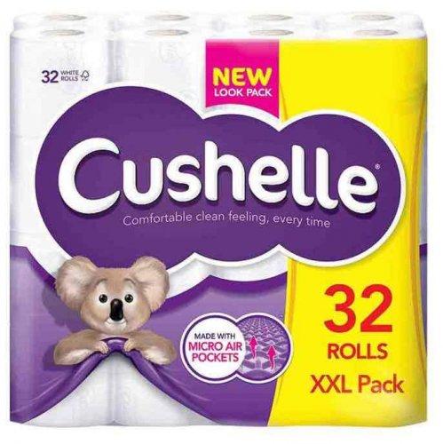 32 Cushelle toilet rolls - £10.99 @ Poundstretcher