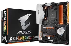 Gigabyte AX370-GAMING 5 (AMD Ryzen) ATX Motherboard Socket AM4 £196.99 @ AWD-IT in STOCK!