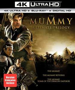 The Mummy Trilogy 4k Ultra HD Blu-Ray £27.84 delivered from Amazon Canada