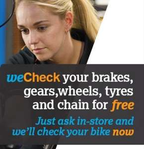 FREE Bike Check @ Halfords