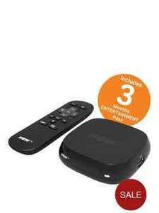 NOW TV Box With 3 Months Entertainment Pass £14.99 @ Very