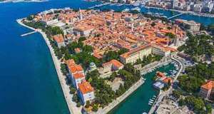 4 nights in Croatia for £123.96 for 2 people including flights and 3* apartment @ Booking.com / Ryanair