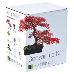 Funky Veg Kit (unusual veg) or Bonsai Trio to grow for £7.49 down from £12.89 @ Amazon (free delivery for Prime members or on orders over £20)