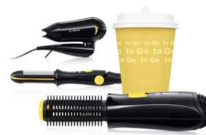 Bosch Style to Go Travel Hair Styling Collection £7.00 each (was £10.00) (Free Reserve & Collect ONLY) @ Dunelm