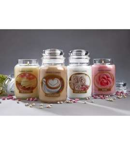 4 large Yankee Candles £31.99 @ Studio (+ £4.99 del per order)