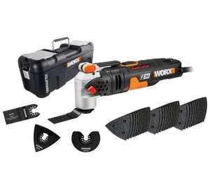 WORX WX681 F50 400W Sonicrafter Multi-Tool Oscillating Tool with 40 Accessories £71.37 Amazon