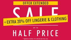 Sale @ Ann Summers + 20% off at checkout on selected items @ Ann summers