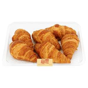 Tesco All Butter Croissants 6 pack now £1