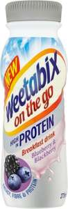Weetabix On The Go Drink Blueberry & Blackberry 275ml was £1.85 now 60p @ Morrisons