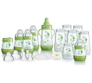 MAM Anti Colic self sterilising baby bottle huge starter set was £99.99 now £25.99 @ Argos
