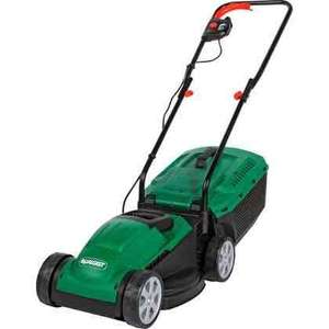 Qualcast 1200W Electric Rotary Lawn Mower - 32cm 310471 £49.88 ANY THOUGHTS BEFORE I ORDER Guys @ Homebase Free C&C
