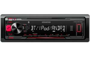 Kenwood KMM-BT302 Car Stereo with Bluetooth / USB / AUX £55 @ Halfords