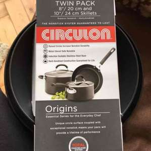 Circulon frying pan 2 pack reduced from £60 to £15 @ Tesco - Western Ave Cardiff