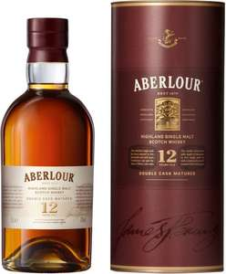 Aberlour 12 Year Old Malt Whisky 70cl  Only £26.00: Save £11.00 @ Sainsbury's