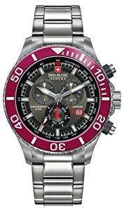 swiss Military Men's SM34223AEU/H03MS Quartz Watch Analogue Display and Stainless Steel Bracelet £89.80 @ Amazon
