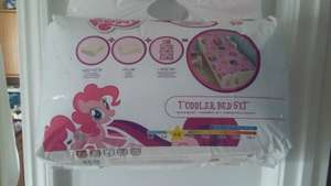 Toddler Bed Set My Little Pony £7.50 instore @ Asda Aintree In Liverpool