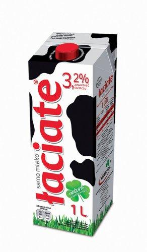 Laciate Milk 3.2% 49p instore LabudaCashAndCarry