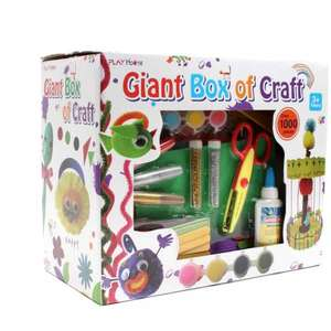 1000 piece craft set £5 Hobbycraft (+ £3.50 delivery / £1 c&c) - good reviews