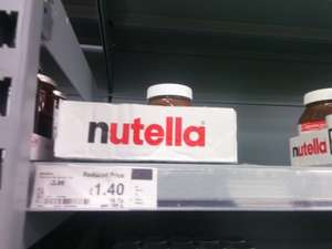 Nutella 750g £1.40 @ asda instore (usually £3.98)