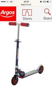Thunderbirds scooter now £7.99 @ Argos free c&c