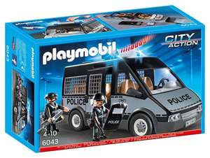 Playmobil 6043 City Action Police Van £13.94 (Prime) / £18.69 (non Prime) at Amazon