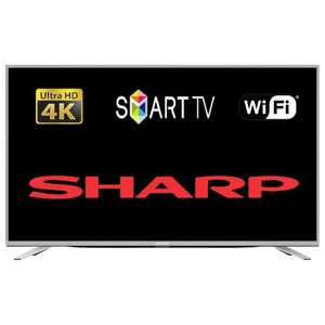 "*Refurb* Sharp LC-49CUF8462KS 49"" Smart LED TV Ultra HD 4K With Freeview HD Tuner Wi-Fi £299 @ Tesco Ebay Outlet"