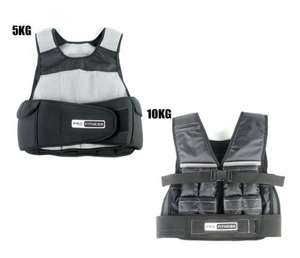 Pro Fitness Weighted Vests - 5KG £9.99 / 10KG £19.99 @ Argos