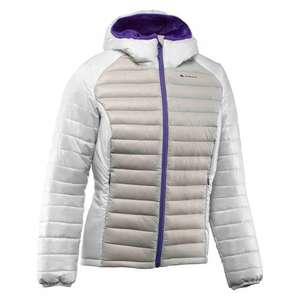 Quechua X-Light Down Jacket All sizes (Womens Grey/White or Turquoise blue or Mens Orange) only £19.99 @ decathlon
