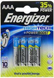 Energizer High Tech AAA Batteries 12p @ Superdrug