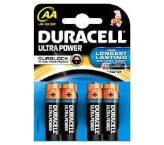 Duracell Ultra Power AA Batteries 25p @ Superdrug